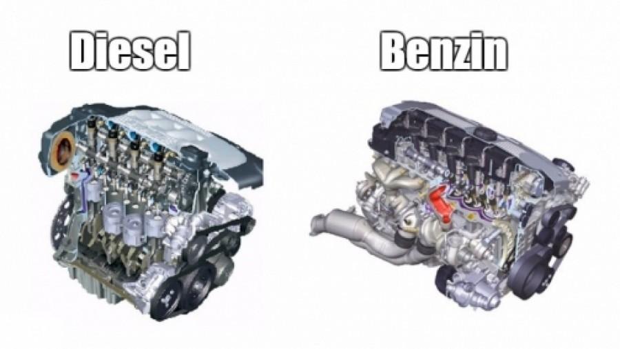 Co je lepší diesel nebo benzín?