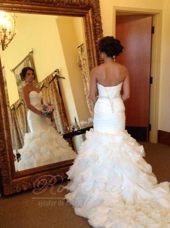 Trouver une robe de mariée bon marché qui est belle