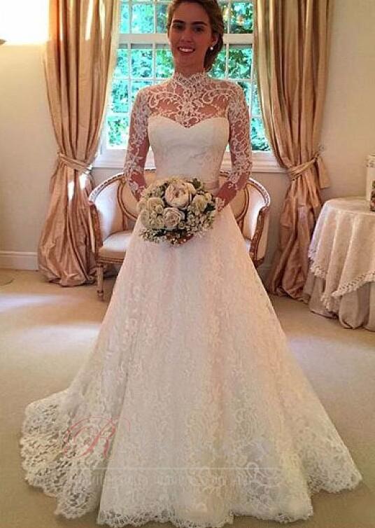 Contre la fonction habituelle de la robe de mariée