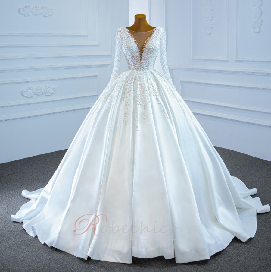 robechics.com robe de mariée de plage abordable